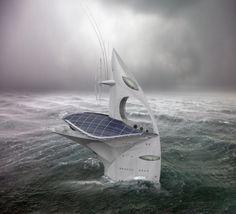 SeaOrbiter dans la tempête #Ocean #Sea