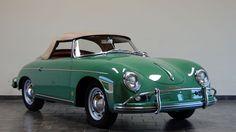 Cars - For Sale - Porsche 356 - 1959 Porsche 356A Convertible D - Auratium Green - California Porsche Restoration