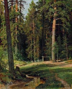 http://www.wikiart.org/en/ivan-shishkin/peasant-woman-with-cows-1873
