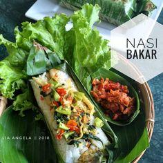 Rice Recipes, Cooking Recipes, Nasi Bakar, Teriyaki Beef, Malaysian Food, Indonesian Food, Indonesian Recipes, Rice Bowls, Seafood