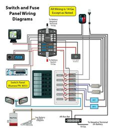 boat wiring diagram boat pinterest diagram boating and john boats rh pinterest com Boat Wiring Schematics 12 Volt Boat Wiring Diagram