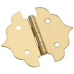 Stanley-National Hardware 1-1/8 in. Solid Brass Ornamental Hinge-CD5313 1.125 ORNMNTL HGE at The Home Depot
