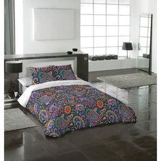 Ensemble avec housse de douillette 3 pièces Paisley de Gouchee Design - Grand lit