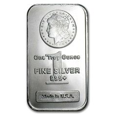 1 TROY OUNCE .999 FINE SILVER MORGAN BAR BU 50 PIECE ALASKAN PURE GOLD NUGGETS