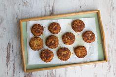 Das beste Rezept | Original Tiroler Kaspressknödel Muffin, Breakfast, Irene, Food, Dumpling Recipe, Simple, Essen, Morning Coffee, Muffins