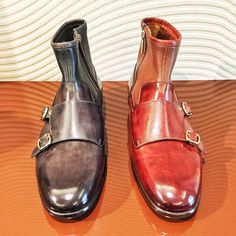 The Santoni Autumn/Winter 15/16 Collection describes an adventurous and proud man that never has to pretend. A contemporary observer.