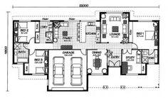 The Carlisle « Australian House Plans The Plan, How To Plan, Australian House Plans, Australian Homes, New Home Construction, Home Design Plans, Building A House, Build House, Carlisle