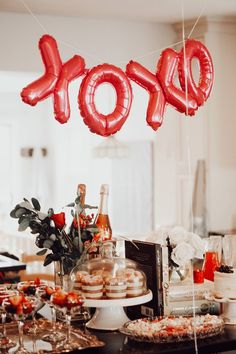 Valentine Theme, My Funny Valentine, Valentines Day Party, Valentines Day Decorations, Valentine Gifts, A Little Party, Think Food, Cupid, Holiday Parties