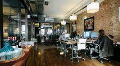 Conheça a WeWork ambiente de trabalho compartilhado ou privativo