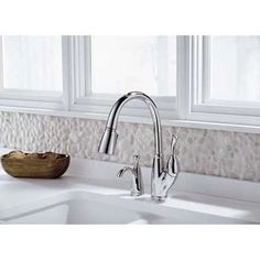 Delta Allora pull-down kitchen faucet