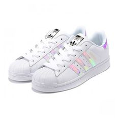 Adidas Superstar Casual Shoes Laser Symphony white ❤ liked on Polyvore featuring shoes, adidas, adidas shoes, adidas footwear and white shoes