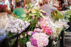 The Flower Market on Cours Saleya  from our 24 hours Nice guide with pictures by @Cristopher Santos  #travel #france #nice #tips #guide #sistermag9
