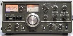 Kenwood TS-520 my first high-frequency amateur radio transceiver.