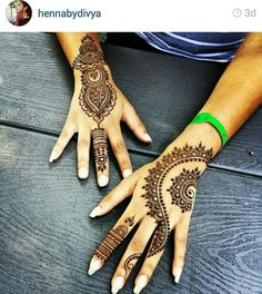 Simple Eid Mehndi Designs Collection 2015-2016 | StylesGap.com