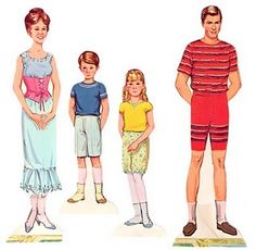 Mary Poppins Paper Dolls