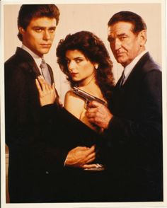 Masquerade (1983-1984) with Kirstie Alley, Rod Taylor and Greg Evigan