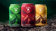 Explore The Great Outdoors With HighSparrow Beer Octopus Art, Beer Brands, Catalog Design, Human Connection, Creativity And Innovation, Packaging Design Inspiration, Creative Director, The Great Outdoors, Branding