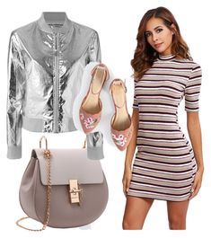 """striped dress"" by selukeyho on Polyvore featuring Paco Rabanne"