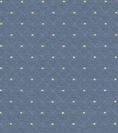 Home Decor Upholstery Fabrics-Waverly Mary Jane Indigo Fabric, , hi-res...to re-do my dining room chairs
