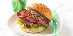 Beef and Caramelised Onion Roll