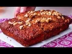 Idealne połączenie płatków owsianych, bananów i orzechów   Smaczny.TV - YouTube Banana Bread, Treats, Minion, Voici, Desert Recipes, Puddings, The Oatmeal, Cake, Deserts