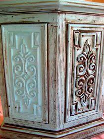 DIY Glazing and Antiquing Furniture Tutorial
