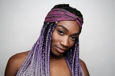 We know you will rock LaurayCo.s signature Carol headband. This beautiful purple paisley headband will add flair to any simple hairstyle. Headbands are the perfect accessory for any hair type. We love the way our handmade accessories look on afro hairstyles, straight and curly hair types alike. Whoever you are, we are sure that we have something that will give your hair the perfect flair.  Our headbands are handcrafted from the best quality jersey knit materials. This headband is soft and…