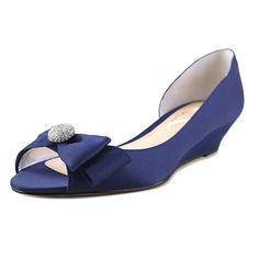 Amazon.com | Nina Ronelle Women Open Toe Canvas Wedge Sandal | Platforms U0026  Wedges