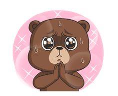 New Raikuma 2 Cute Baby Cats, Cute Babies, Gallo Claudio, Emoji, Animated Dragon, We Bare Bears, Gif Pictures, Line Sticker, Cute Gif