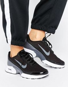 94dfd16ee2ec Nike Air Max Jewell Trainers In Black And Grey Cool Trainers