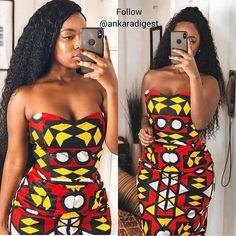 African Wear Dresses, Latest African Fashion Dresses, African Print Fashion, Africa Fashion, African Attire, Sexy Gown, Africa Dress, African Girl, Ankara Dress