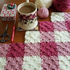 The Patchwork Heart: JAYG (Corner to corner join as you go) Tutorial,The Patchwork Heart: JAYG (Corner to corner join as you go) Tutorial Produce crochet quilts yourself Who does not love a blanket where you could h.