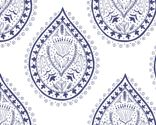 My design, Mumbai in faded blue. #indianblockprint #fabric #navy #blue