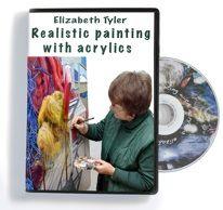 watercolour DVDs by Elizabeth Tyler