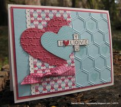 by Nance Leedy, Canopy Crafts: Love Across and Down {PP127}