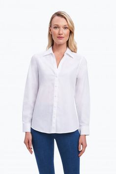 a2b8aed8 26 Best foxcroft I great white shirts images | White dress shirts ...