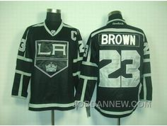 http://www.jordannew.com/nhl-jerseys-los-angeles-kings-23-brown-full-black-super-deals.html NHL JERSEYS LOS ANGELES KINGS #23 BROWN FULL BLACK LASTEST Only $35.00 , Free Shipping!