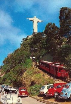 Old Pictures, Old Photos, Vintage Photos, Christ The Redeemer, Brazil Travel, Cities, Aesthetic Vintage, Places To Go, Beautiful Places