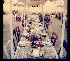 Apulian wedding reception for Justin Timberlake and Jessica Biel