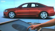 Inside A Digital Car Showroom