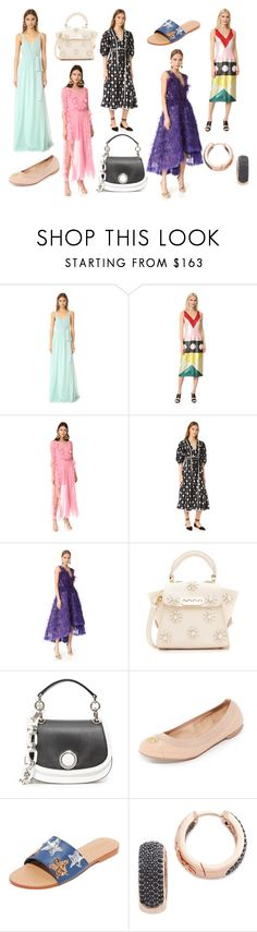 """FASHION FANTASY"" by cate-jennifer ❤ liked on Polyvore featuring Joanna August, Novis, Preen, Rebecca Taylor, Marchesa, ZAC Zac Posen, Michael Kors, Tory Burch, Mystique and Bronzallure"