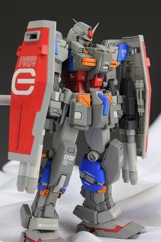 GUNDAM GUY: DC 1/100 FA-78-2 Full Armor Gundam - Painted Build