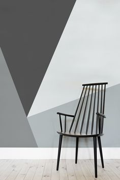 This wallpaper design makes plain white walls look dull in comparison. Bringing together sleek lines with a palette of greys, this geometric wallpaper design is both elegant and sophisticated. Making a great choice for home office spaces and modern living room spaces.