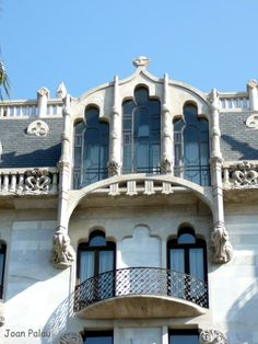 Casa Fuster. Architect Lluis Domènech i Montaner. Built in 1908-11. Barcelona, Catalonia.