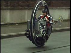Monowheel, Monocycle, V8 Einradmotorrad, Kerry McLean, TV Beitrag Abente...