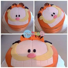 Wow the kids would love this. Even the fella would! Friend Birthday, 4th Birthday, Birthday Cake, Science Experiments Kids, Science For Kids, Bolo Garfield, Garfield Birthday, Character Cakes, Throw A Party