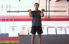 How to do a front squat