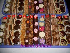 Hrana ljubavi: Posni slavski kolači - 14 vrsta Torte Recepti, Kolaci I Torte, Bosnian Recipes, Croatian Recipes, Cookie Recipes, Dessert Recipes, Desserts, Posne Torte, Mini Cakes