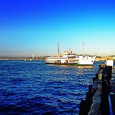 Kabatas Kadikoy Ship, Bosphorus, Istanbul   @Kanyonistanbul