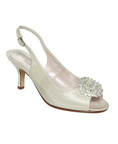 Bridal shoe? Or too old lady?
